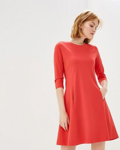 Коралловое платье Bruebeck