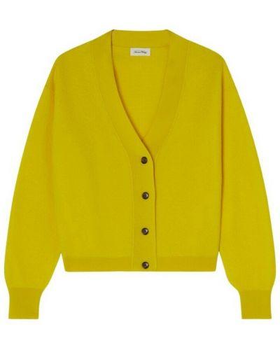 Sweter vintage - żółty American Vintage