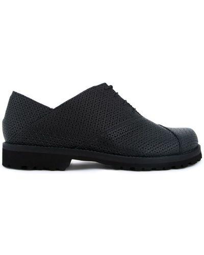 Черные кожаные туфли Peter Non