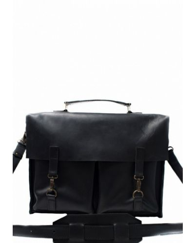 Кожаная сумка черная Incarne