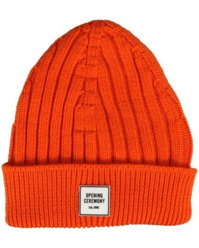 Pomarańczowa czapka Opening Ceremony