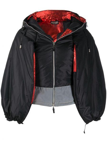 Черная куртка с капюшоном на молнии Gianfranco Ferre Pre-owned