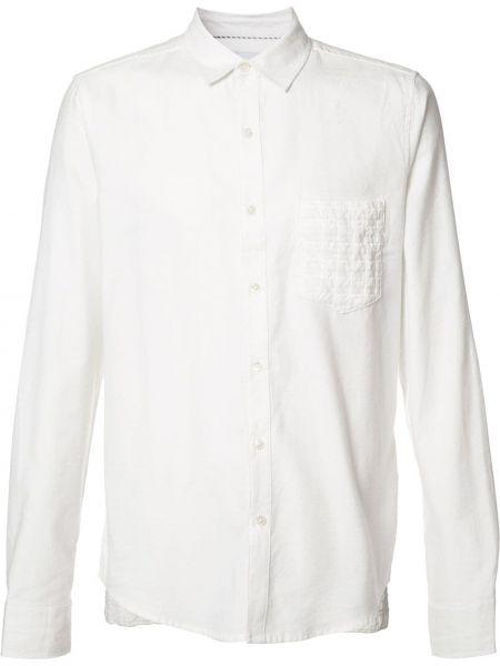 Белая рубашка из вискозы Private Stock