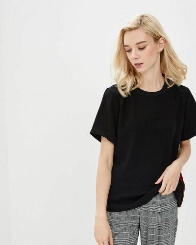 Черная блузка с коротким рукавом B.young