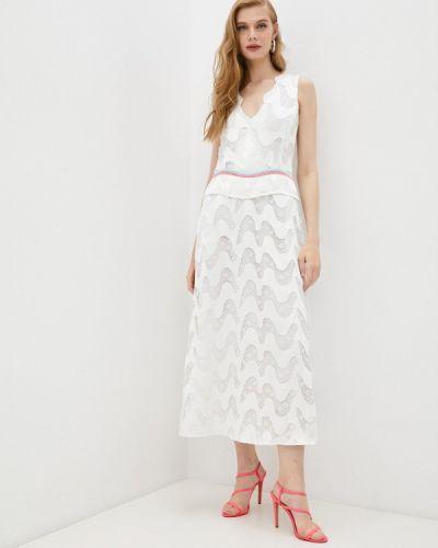 Белое вечернее платье Emporio Armani