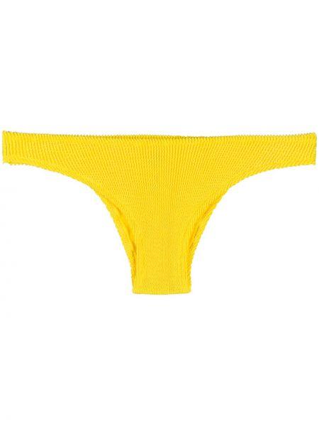 Пляжные плавки бикини с поясом с нашивками Mc2 Saint Barth