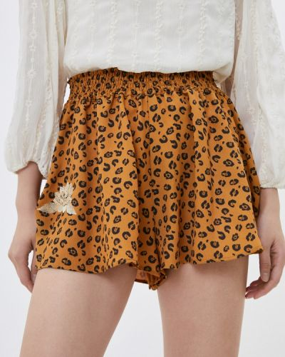 Оранжевые повседневные шорты Chiara Ferragni Collection