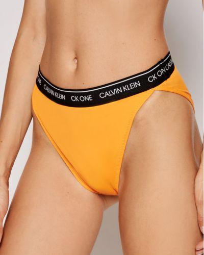 Bikini - pomarańczowy Calvin Klein Swimwear