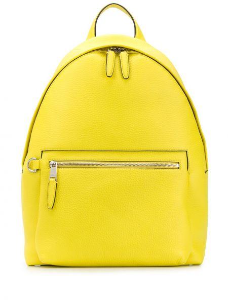 Plecak skórzany - żółty Mulberry