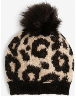 Zimowy kapelusz beżowy Superdry