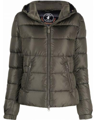Дутая куртка - зеленая Save The Duck
