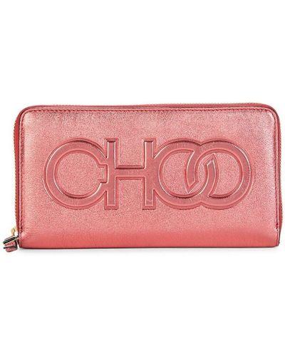 Кожаный кошелек Jimmy Choo