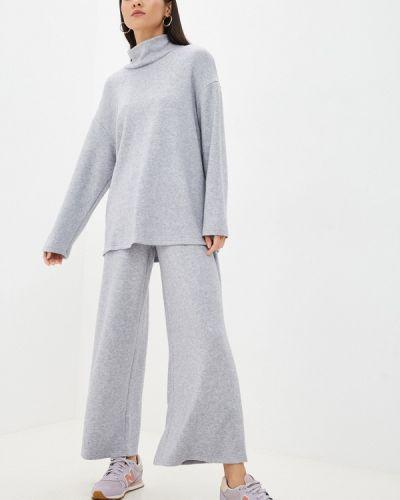 Серый зимний костюм La Biali