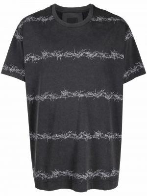 Белая прямая футболка Givenchy