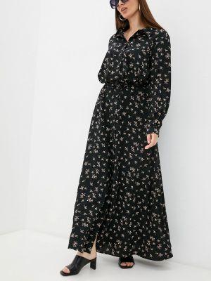 Черное платье осеннее Trendyangel