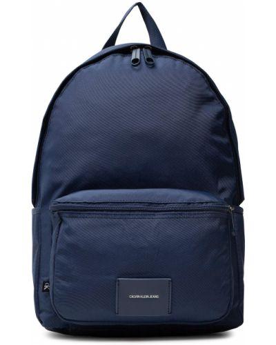 Plecak sportowy granatowy Calvin Klein Jeans