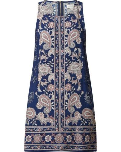Niebieska sukienka mini z wiskozy Apricot