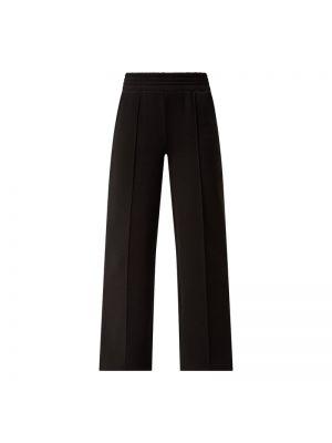 Czarne spodnie bawełniane Pieces