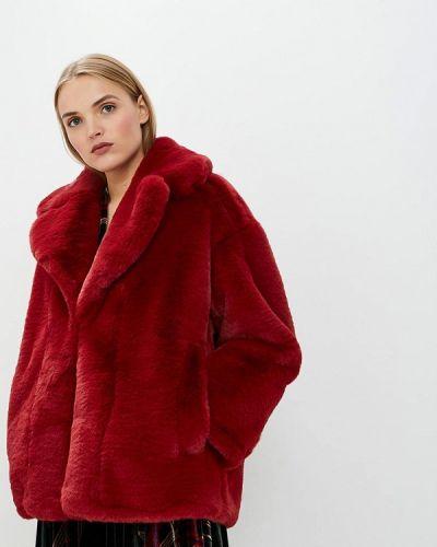 Красная дубленка Diane Von Furstenberg