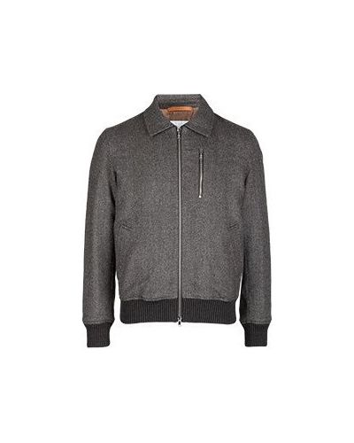 Шерстяная коричневая куртка Cortigiani