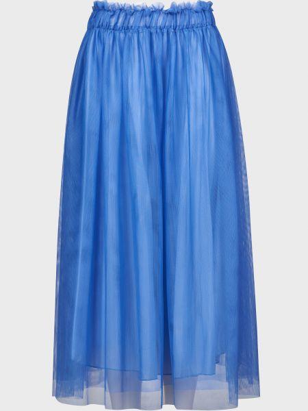 Юбка из вискозы - голубая Vicolo