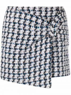Шерстяная юбка - синяя Amen.