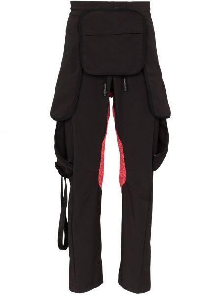 Czarne spodnie bawełniane Byborre