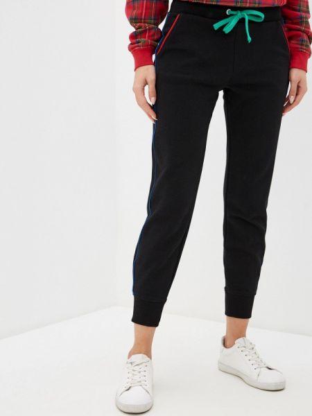 Спортивные брюки черные весенний United Colors Of Benetton