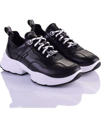 Черные кроссовки Marco Piero