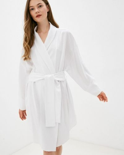 Домашний халат - белый Lezzarine