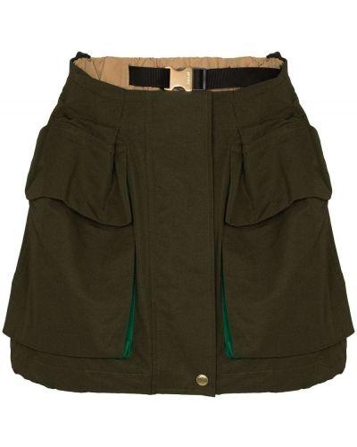 Юбка шорты - зеленая Sacai