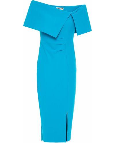 Плиссированное платье - бирюзовое Chiara Boni La Petite Robe
