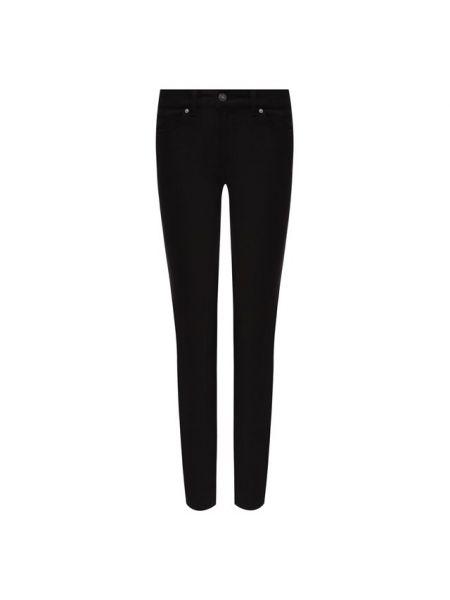 Укороченные прямые джинсы - черные Escada Sport