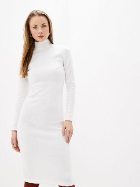 Белое вязаное платье Toryz