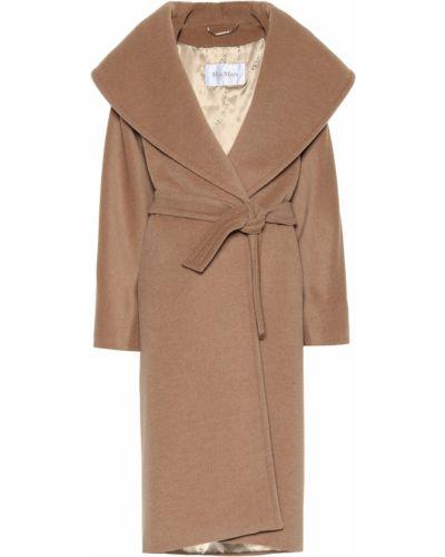 Пальто на верблюжьей шерсти шерстяное Max Mara