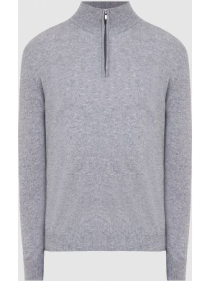 Кашемировый свитер - серый Malo