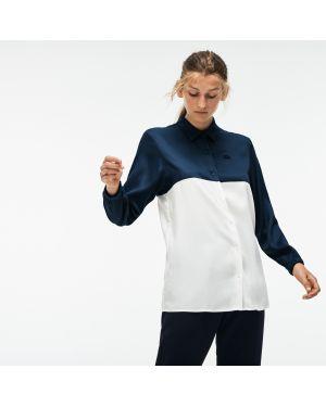 Рубашка на кнопках на резинке Lacoste