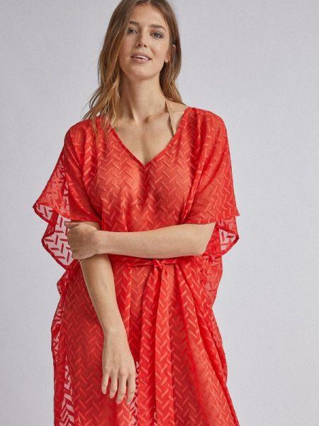 Красное пляжное платье Dorothy Perkins