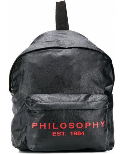 Plecak czarny Philosophy Di Lorenzo Serafini Kids