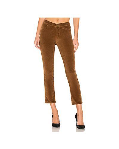 Свободные брюки расклешенные вельветовые Frame