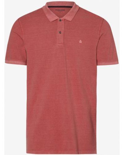 Różowa t-shirt Jack & Jones