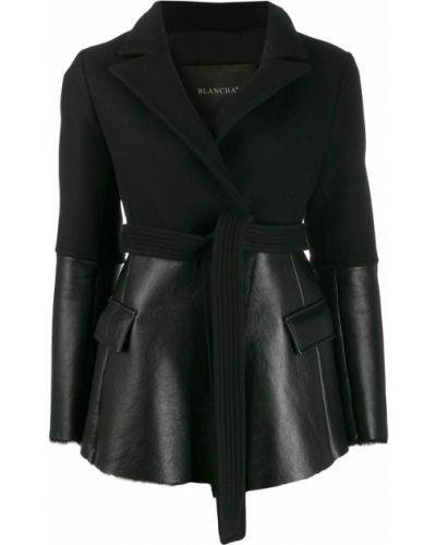 Черная куртка Blancha