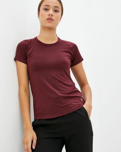 Бордовая футболка осенняя Nativos