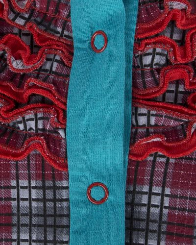 Блуза красный трифена
