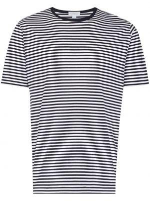 Белая футболка с круглым вырезом Sunspel