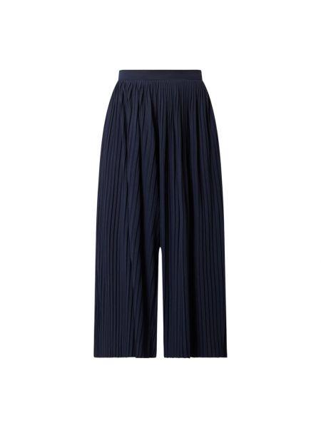 Niebieskie spodnie z wiskozy Vila