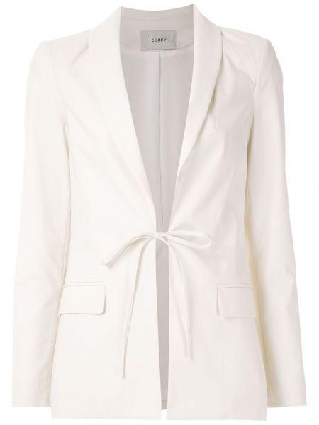 Плиссированный удлиненный пиджак Egrey