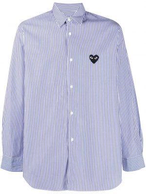 Белая классическая рубашка с воротником на пуговицах Comme Des GarÇons Play