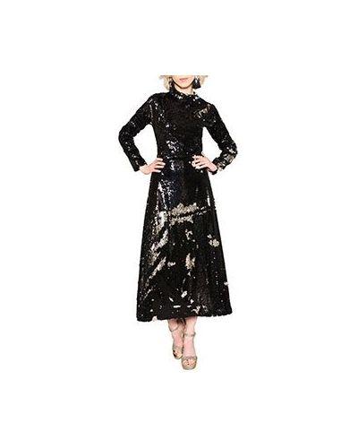 Вечернее платье черное ли-лу