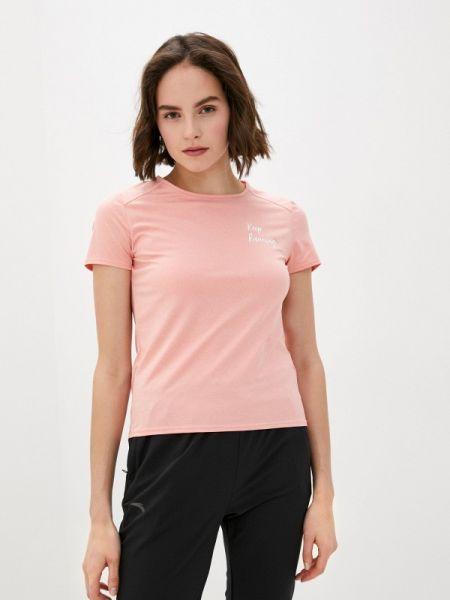 Спортивное футбольное розовое поло Anta